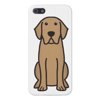 Labrador Retriever Dog Cartoon Case For The iPhone 5