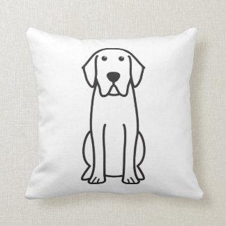 Labrador Retriever Dog Cartoon Cushion