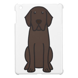 Labrador Retriever Dog Cartoon iPad Mini Cover