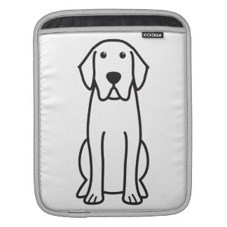 Labrador Retriever Dog Cartoon iPad Sleeve