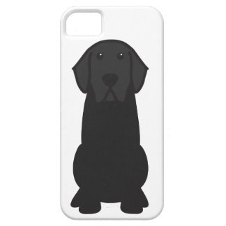 Labrador Retriever Dog Cartoon iPhone 5 Cases