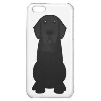 Labrador Retriever Dog Cartoon iPhone 5C Case