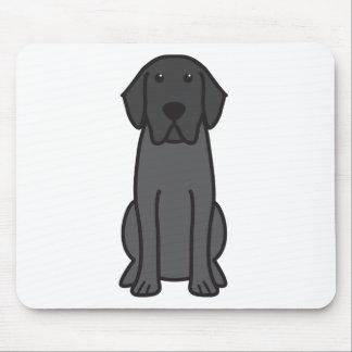 Labrador Retriever Dog Cartoon Mouse Mat