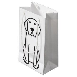 Labrador Retriever Dog Cartoon Small Gift Bag