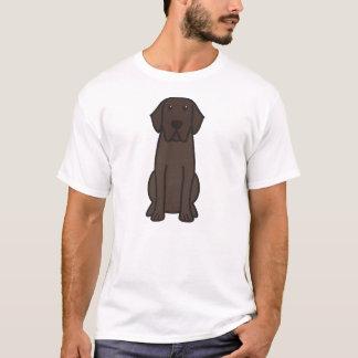 Labrador Retriever Dog Cartoon T-Shirt