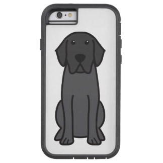 Labrador Retriever Dog Cartoon Tough Xtreme iPhone 6 Case