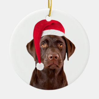 Labrador Retriever dog christmas tree ornament