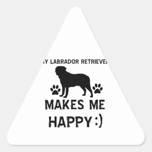 Labrador Retriever dog designs Stickers