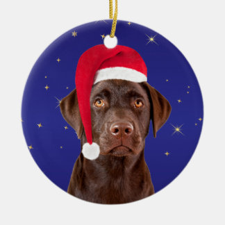 Labrador Retriever dog holiday decoration ornament