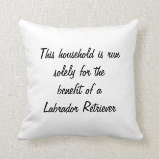 Labrador Retriever dog photo cushion pillow