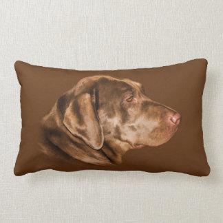 Labrador Retriever Dog, Pillow, Customizable Lumbar Cushion