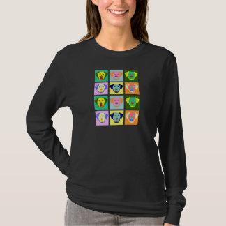 Labrador Retriever Dog Pop Art T-Shirt