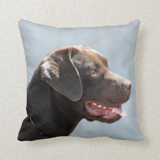 Labrador Retriever Dog square throw pillow