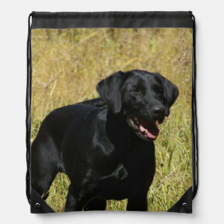 Labrador Retriever Drawstring Bag