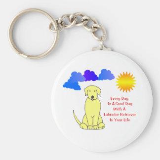Labrador Retriever EveryDay Is A Good Day Keychain