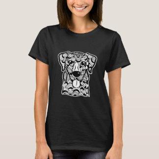 Labrador Retriever Face Graphic Art T-Shirt