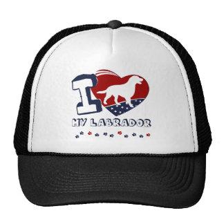 Labrador Retriever Mesh Hat