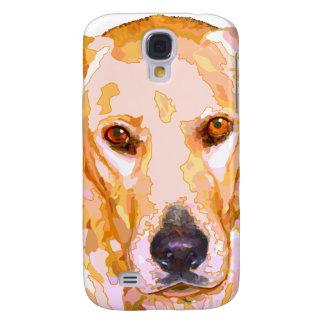 Labrador Retriever in Dazzling Yellows Phone Cover Galaxy S4 Case