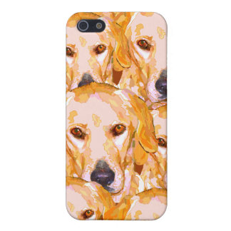 Labrador Retriever in Dazzling Yellows Phone Cover iPhone 5/5S Cover