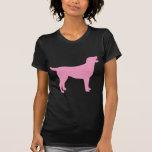 Labrador Retriever (in pink) T Shirts