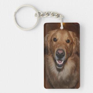 Labrador retriever key ring