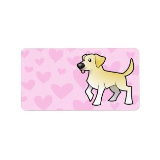Labrador Retriever Love Address Label