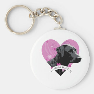 Labrador Retriever Love Heart Key Chain
