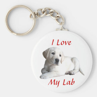 Labrador Retriever Love Keychain