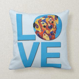 Labrador Retriever LOVE Pillow