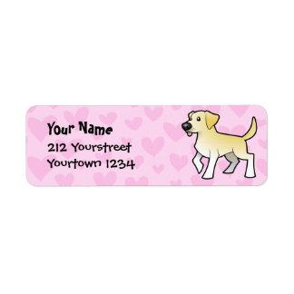 Labrador Retriever Love Return Address Label