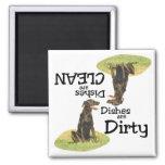 Labrador Retriever Lovers Dishwasher Magnet