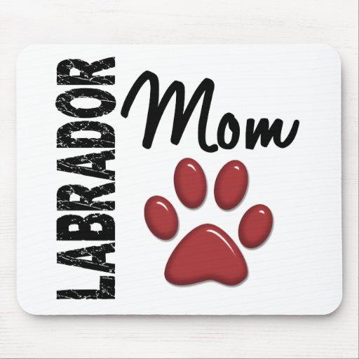 Labrador Retriever Mom 2 Mousepads
