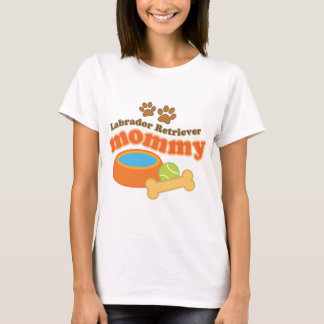 Labrador Retriever Mommy T-Shirt