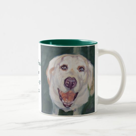 Labrador Retriever Mug Happiness is..