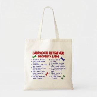 LABRADOR RETRIEVER Property Laws Budget Tote Bag