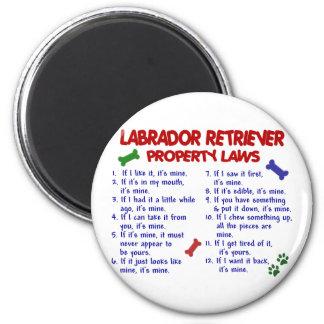 LABRADOR RETRIEVER Property Laws Fridge Magnets
