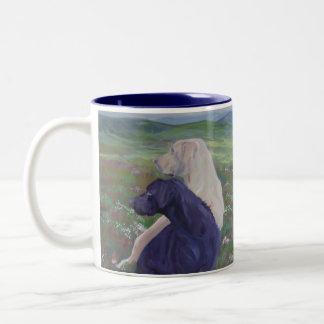 Labrador Retriever Rescue Scotland Two-Tone Coffee Mug