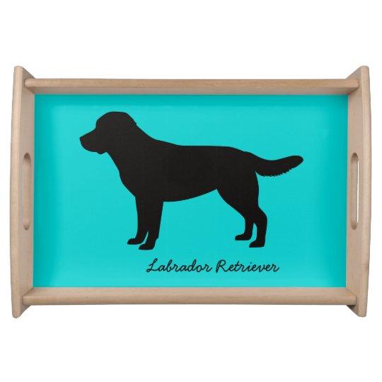 Labrador Retriever Serving Tray