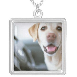 Labrador Retriever Silver Plated Necklace