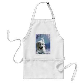 Labrador Retriever Winter Standard Apron