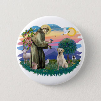 Labrador Retriever (yellow) 6 Cm Round Badge