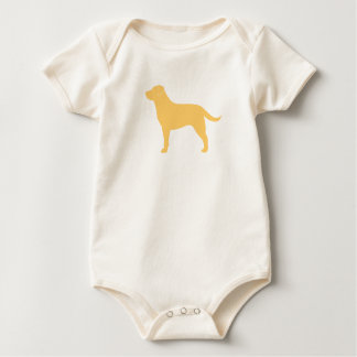 Labrador Retriever (Yellow) Baby Bodysuit