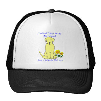 Labrador Retriever Yellow Best Things In Life Hat