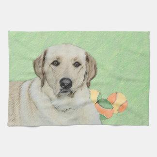 Labrador Retriever (Yellow) Hand Towel