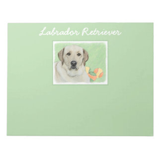 Labrador Retriever (Yellow) Notepad