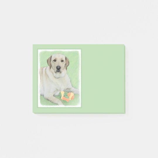 Labrador Retriever (Yellow) Post-it Notes