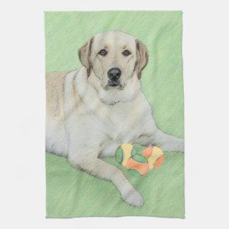 Labrador Retriever (Yellow) Tea Towel