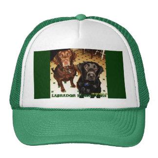 Labrador Retrievers Mesh Hats