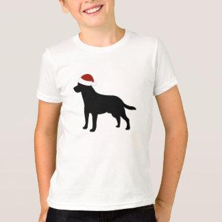 Labrador Santa Hat T-Shirt
