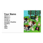 Labrador School Painting Pack Of Standard Business Cards